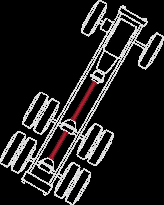 Diagram for Driveshafts & End Yokes